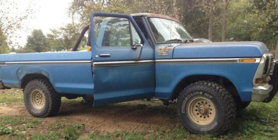 Rough 1978 Ford F-150