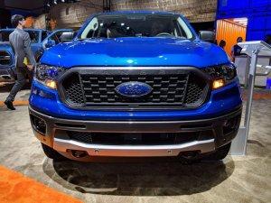 Ranger XLT Sport Front Square