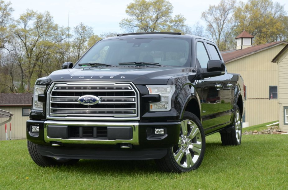 Ford F-150 Limited Front