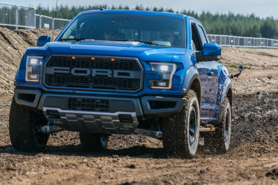 2017 Ford F-150 Raptor in Blue