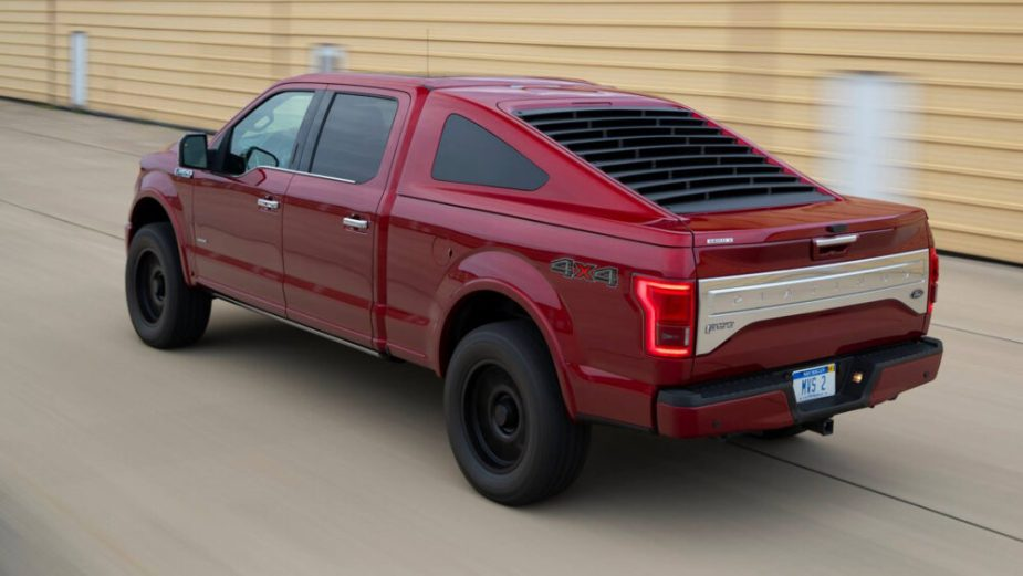 Ford F-150 Mustang Fastback Bed Cover