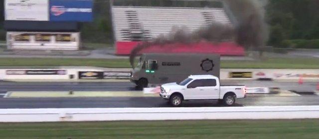 F-150 Versus Bread Truck