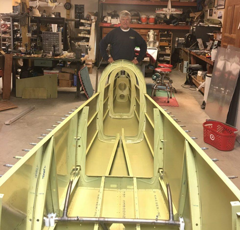 Ray Ward fuselage