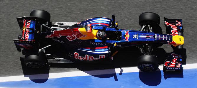 Vettel rodando en los Libres 1 de Mónaco