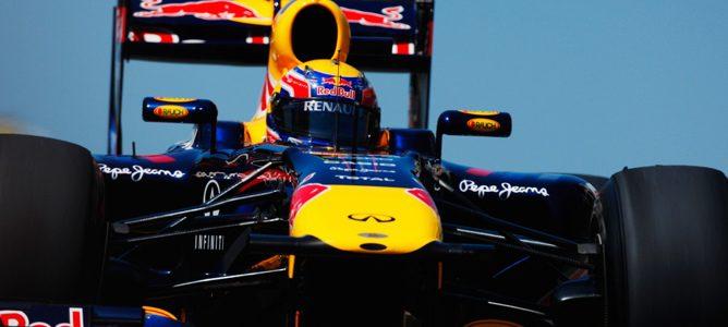 Webber rodando con su RB7