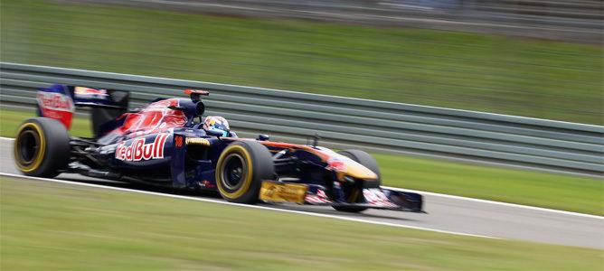 Buemi rodando en la clasificación de Nürburgring