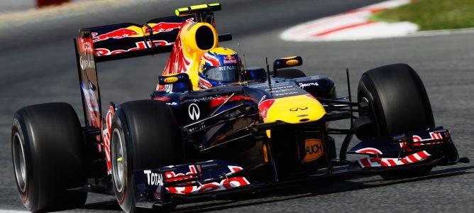 Webber rodando en los Libres 1 de Brasil