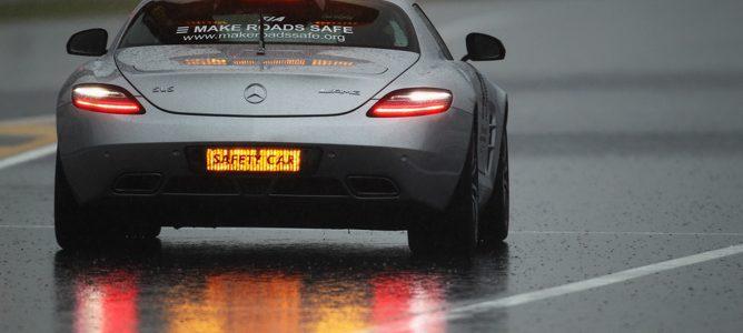 """El coche de seguridad """"Safety Car"""" con acción en la pista durante esta temporada"""