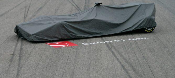 Lo que fue la presentación del Sauber