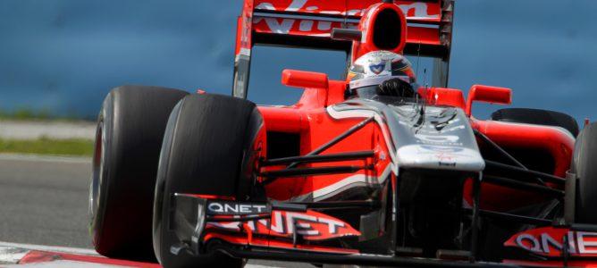 D'Ambrosio rodando con el MVR-02 durante la temporada 2011