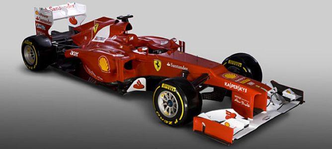 El nuevo monoplaza de Ferrari, el F2012