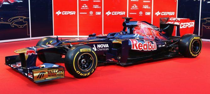El nuevo monoplaza de Toro Rosso, el STR7