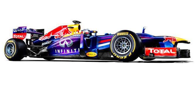 Nuevo Infiniti Red Bull RB9, la nueva máquina de Red Bull