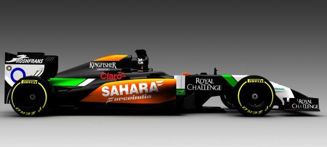 Nuevo Sahara Force India VJM07