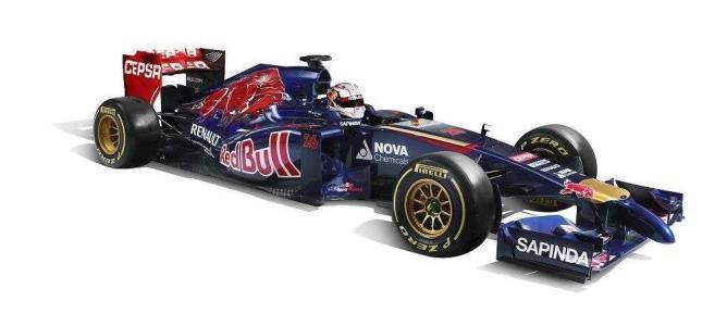 Nuevo Toro Rosso STR9