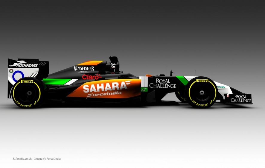 Force India VJM07, 2014