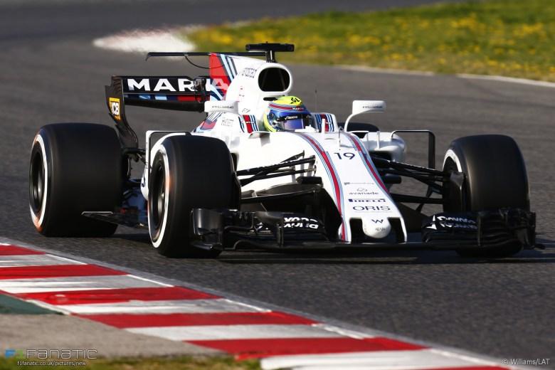 Felipe Massa, Williams, Circuit de Catalunya, 2017 · F1 Fanatic