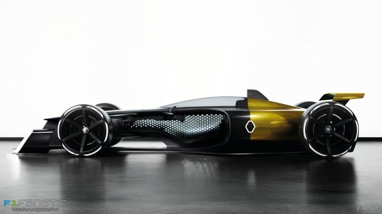 Renault RS 2027 vision F1 car concept · F1 Fanatic