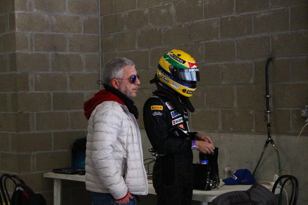 Andrea Cola et son père Massimo Cola ©Angélique Belokopytov