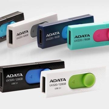 Rychlý bezkrytkový USB flash disk od Adata