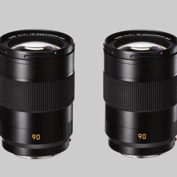 Portrétní objektivy 75mm a 90mm pro full frame bezzrcadlovky Leica