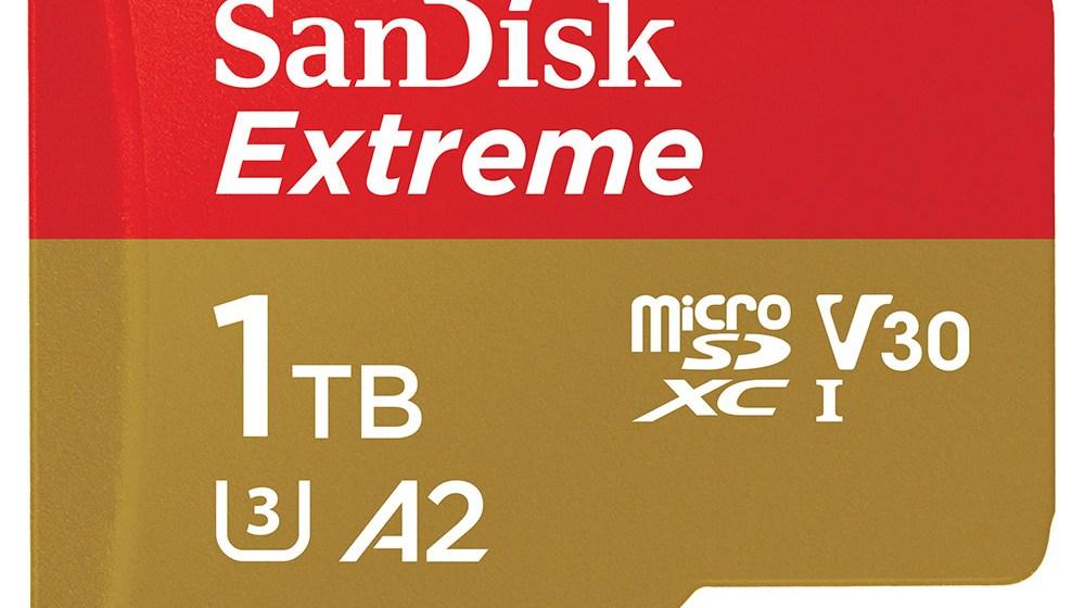Western Digital představil nejrychlejší 1TB UHS-I microSD kartu na světě