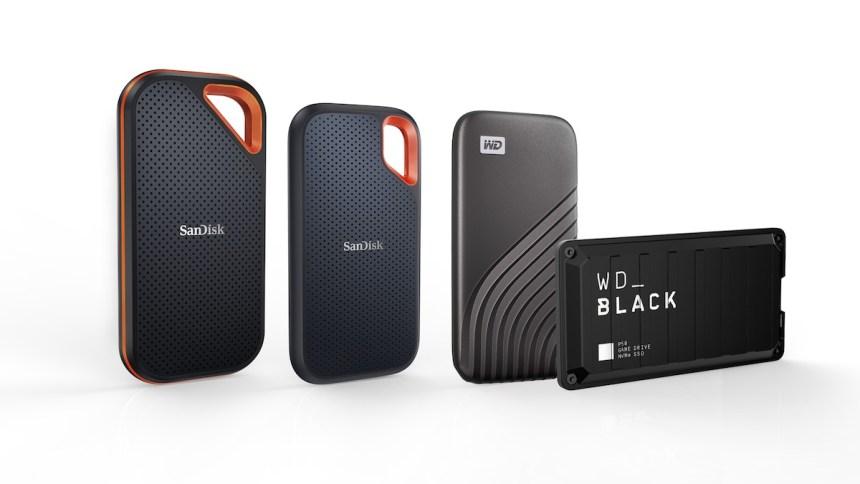 Western Digital přináší bezkonkurenční řadu 4TB přenosných externí SSD disků napříč svým vysoce ceněným produktovým portfoliem