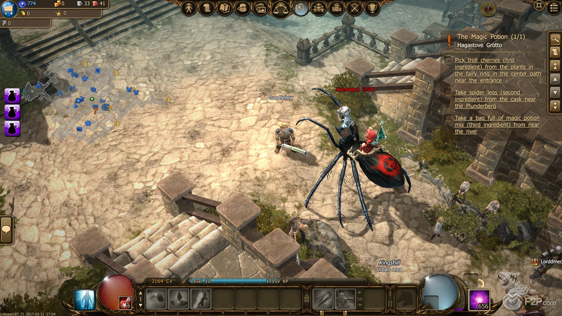 First Impressions On Drakensang Online Free To Play Fantasy Action RPG