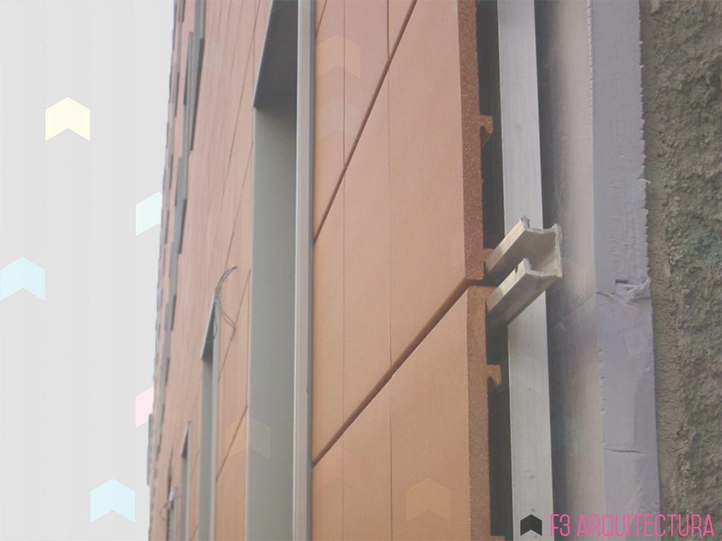 Fachada ventilada f3 arquitectura - Material para fachadas ...