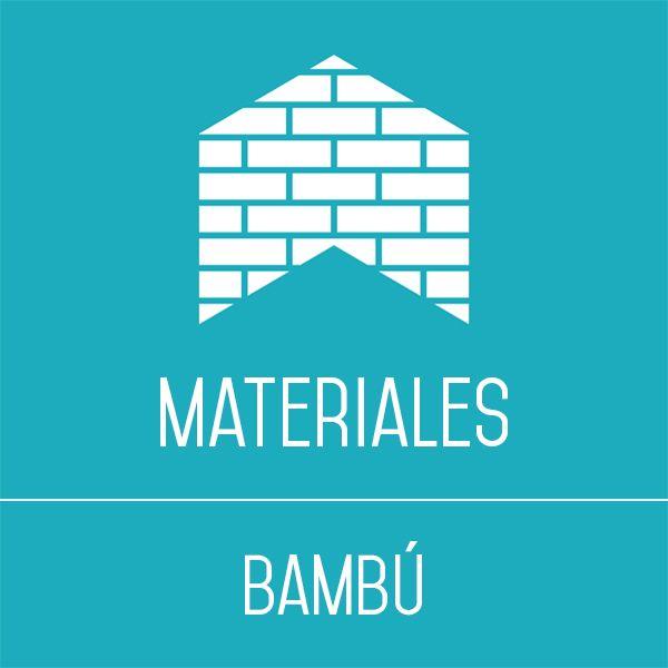 Bambú y sus aplicaciones