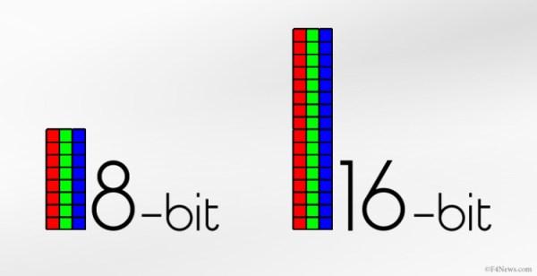 8-bit vs 16-bit editing guide - F4News
