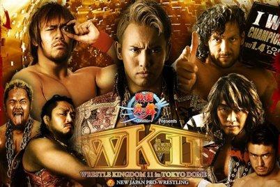NJPW In The Tokyo Dome - January NJPW Wrestle Kingdom 11 live results: Kazuchika Okada vs. Kenny Omega
