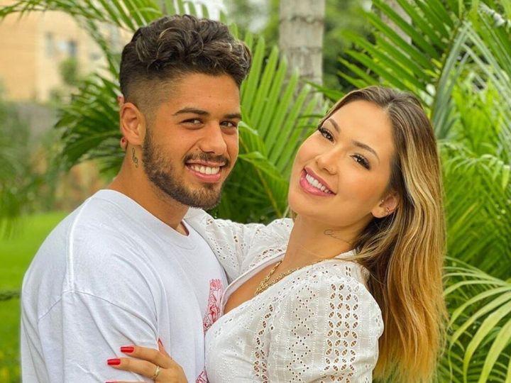"""Apaixonada, Virginia se declara mais uma vez para Zé Felipe: """"Eu amo você demais"""""""
