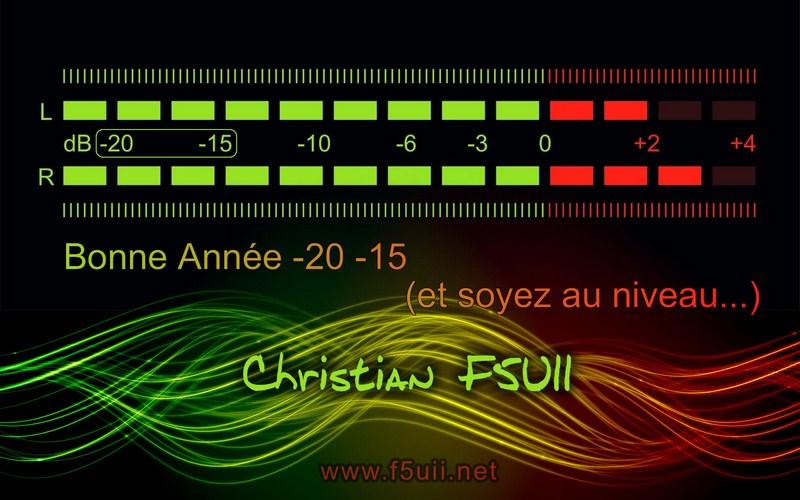 Carte Voeux F5UII 2015