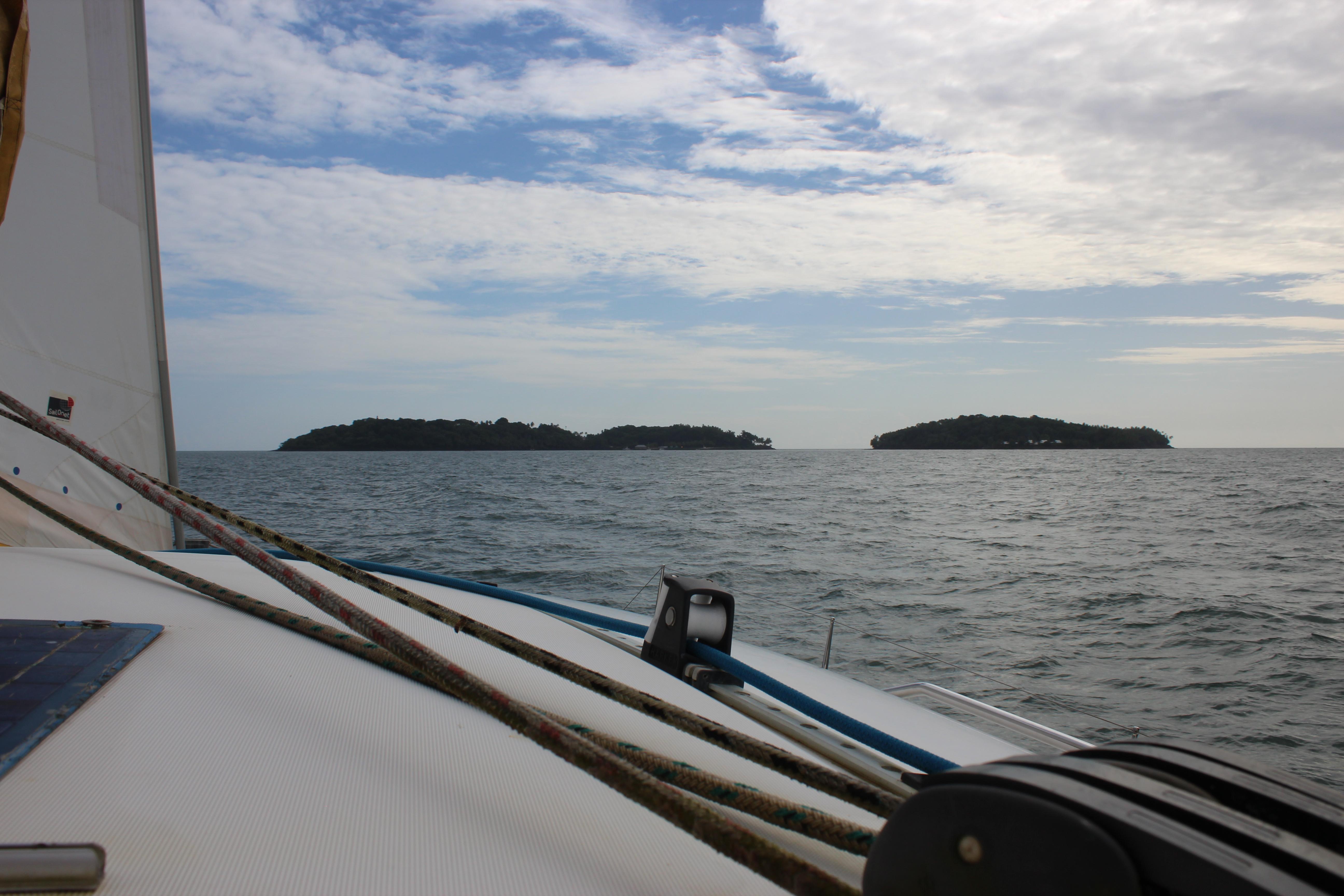 Iles du Salut, au large de Kourou (Guyane Française)