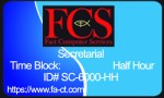 Half-Hour of Secretarial Services