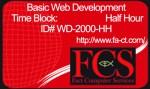 Half-Hour of Website Development