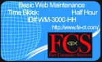 Half-Hour of Website Maintenance
