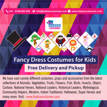 Fancy Dress Costumes on Rent in Pune