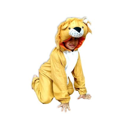 Kids Lion Costume Fancy Dress on Rent