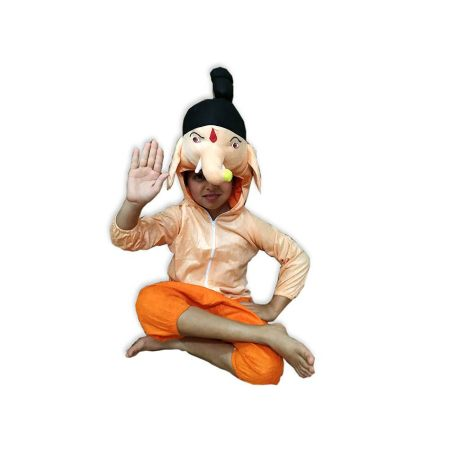 Kids Lord Ganesha Costume Fancy Dress on Rent