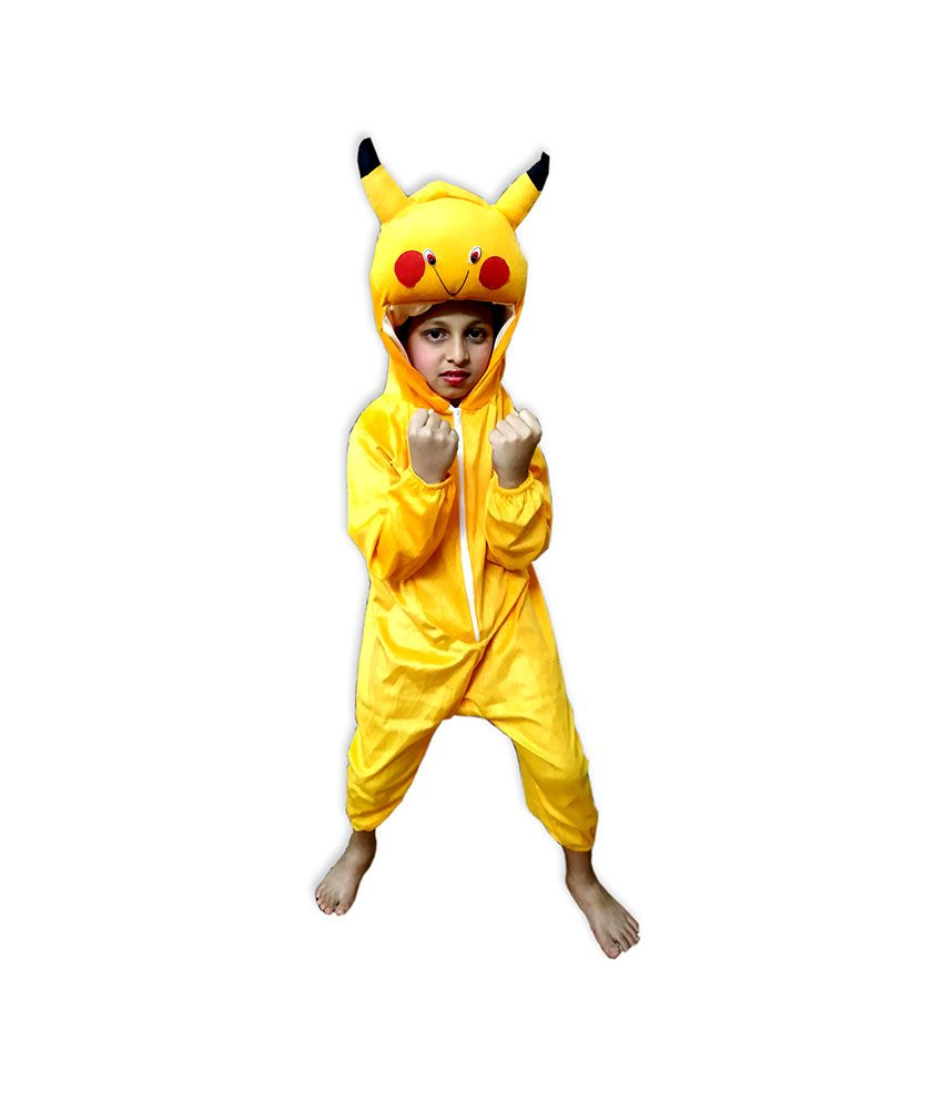 Kids Pikachu Costume Fancy Dress on Rent