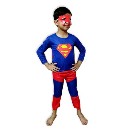 Kids Superman Costume Fancy Dress on Rent
