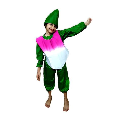 Kids Turnip Costume Fancy Dress on Rent