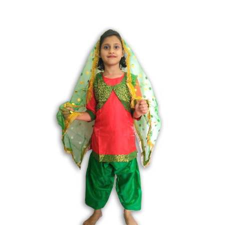 Hire Punjabi Girl Costume
