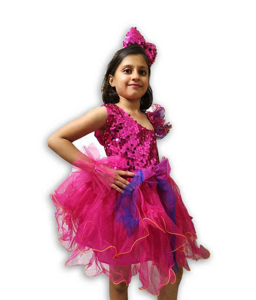 Hire Pink Frock Western Dance Costume