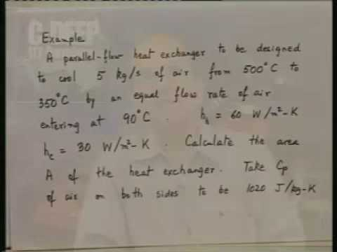 Introduction on Heat and Mass Transfer Lecture – 27