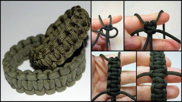 How To DIY Paracord Survival Bracelet Tutorial