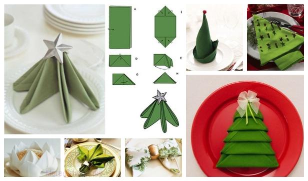 20 Best Diy Napkin Folding Tutorials For Christmas