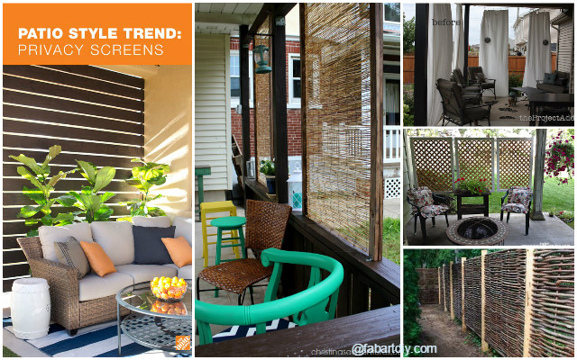 10 Diy Patio Privacy Screen Projects Free Plan